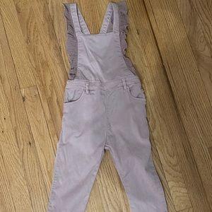 Zara lavender overalls sz 3 / 4